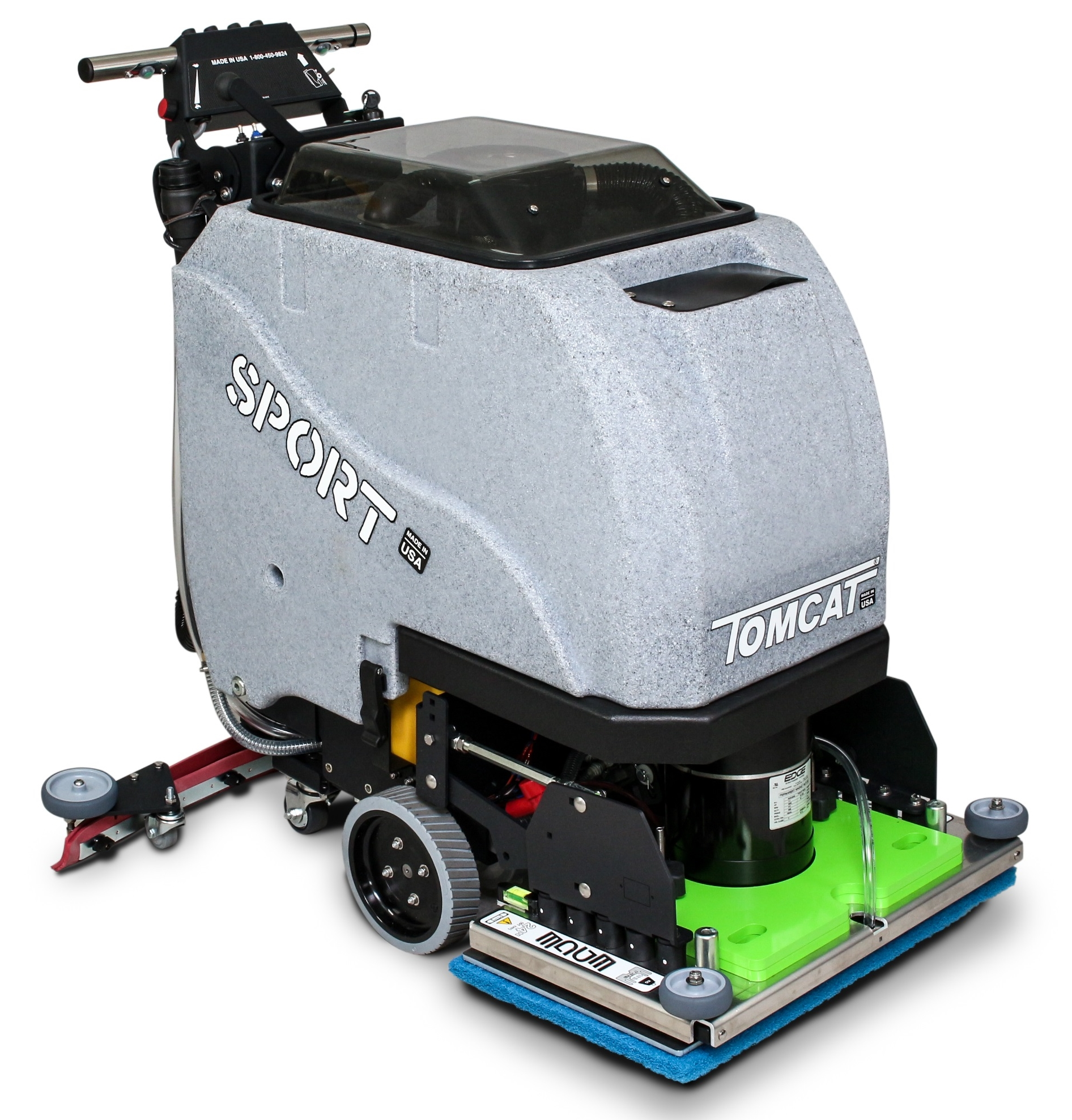 TomCat Sport Scrubber Drier with EDGE oscillating tecnology