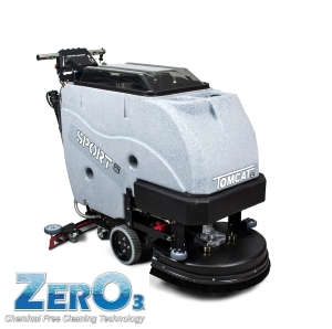 disc scrubber dryers