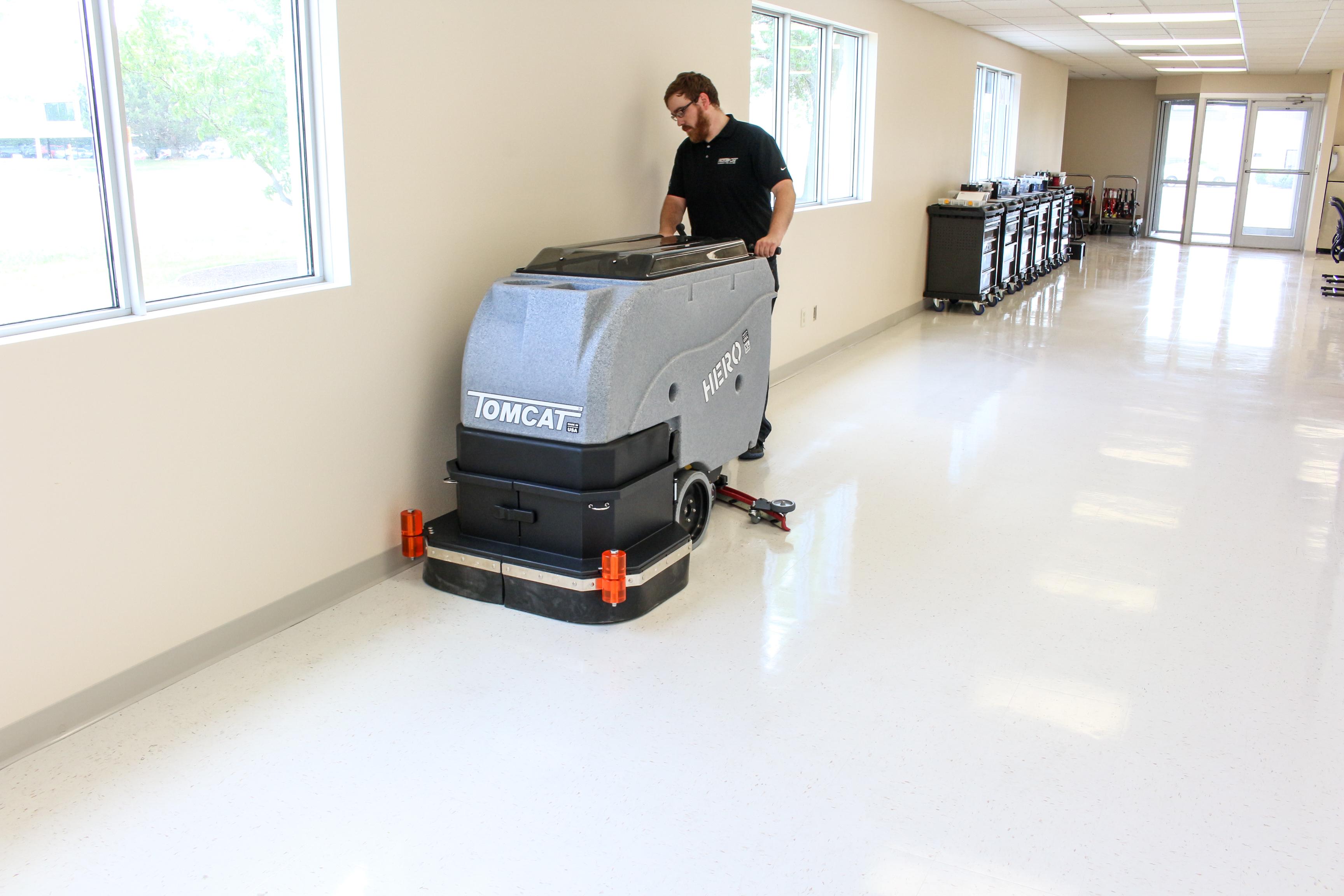 hero floor scrubber